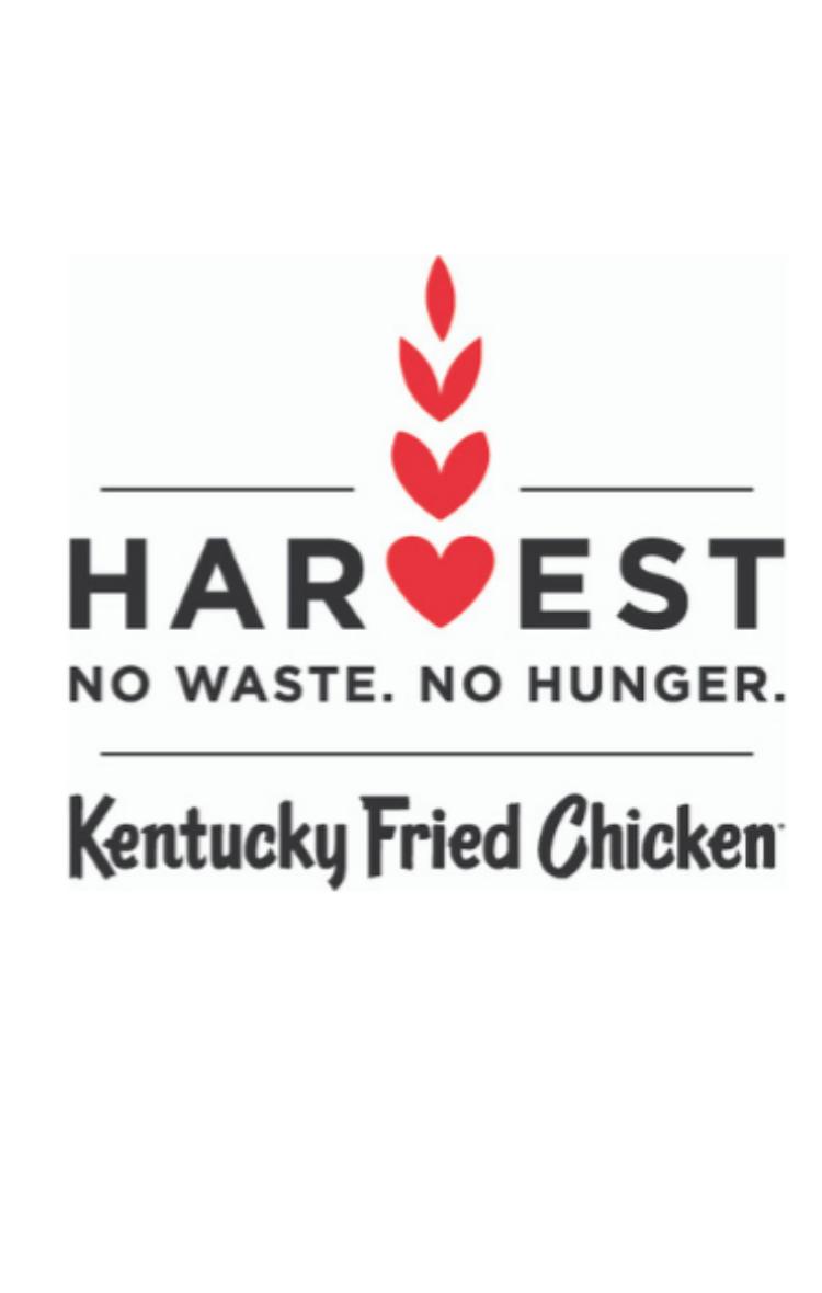 KFC -The 'Harvest' food donation programme
